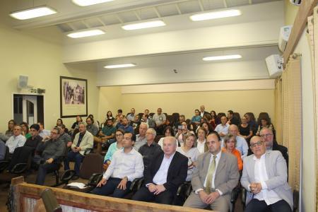 Luia prestigia apresentação do Projeto de revitalização da Casa Major Nicoletti